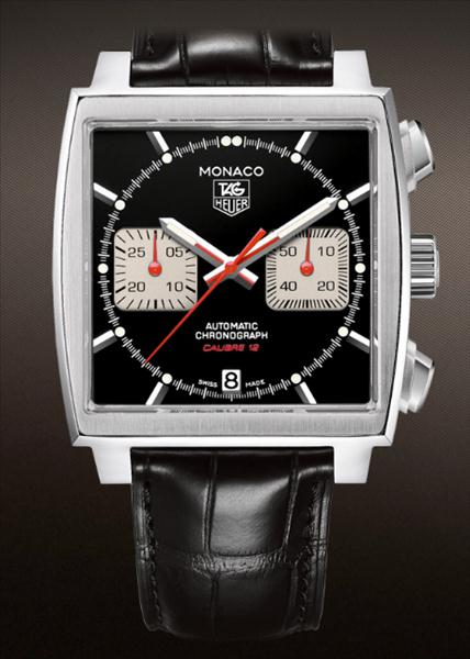 tag heuer steve mcqueen edition monaco mens watch. Black Bedroom Furniture Sets. Home Design Ideas