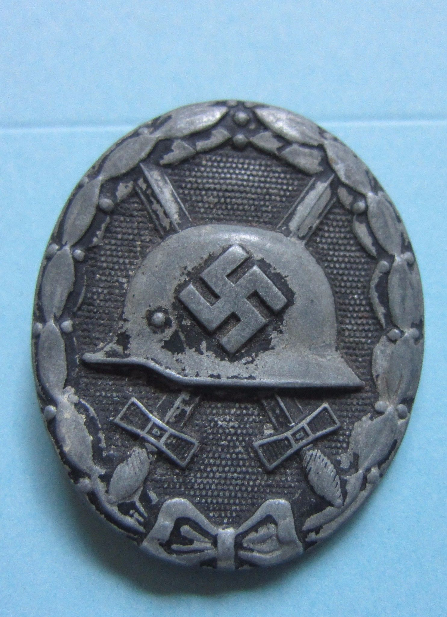 ORIGINAL GERMAN WW2 WOUND BADGE BLACK