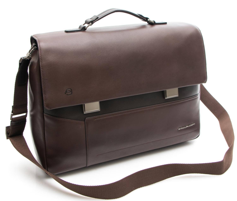 637d5faf022 Мъжка Кожена Бизнес Чанта за Документи Piquadro