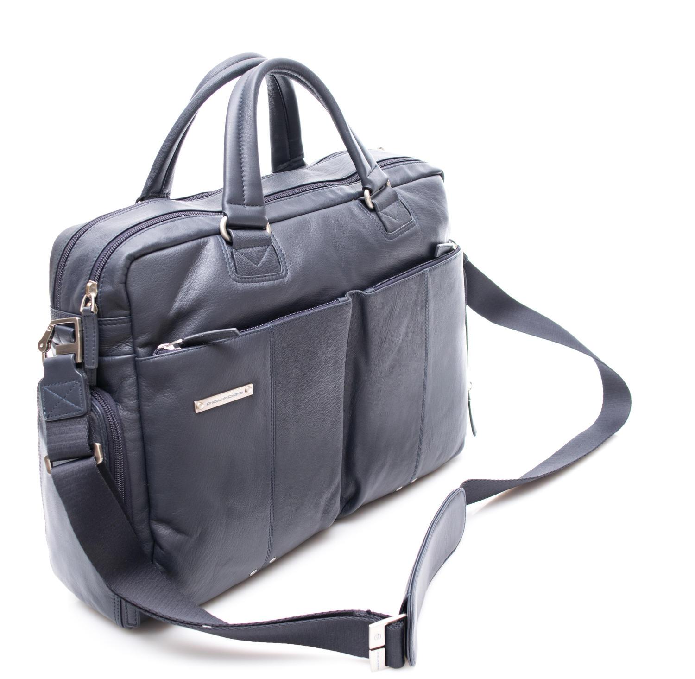 d306e5fac3b Мъжка Кожена Бизнес Чанта за Документи Piquadro; PIQUADRO 888816; Бизнес  Чанти Piquadro
