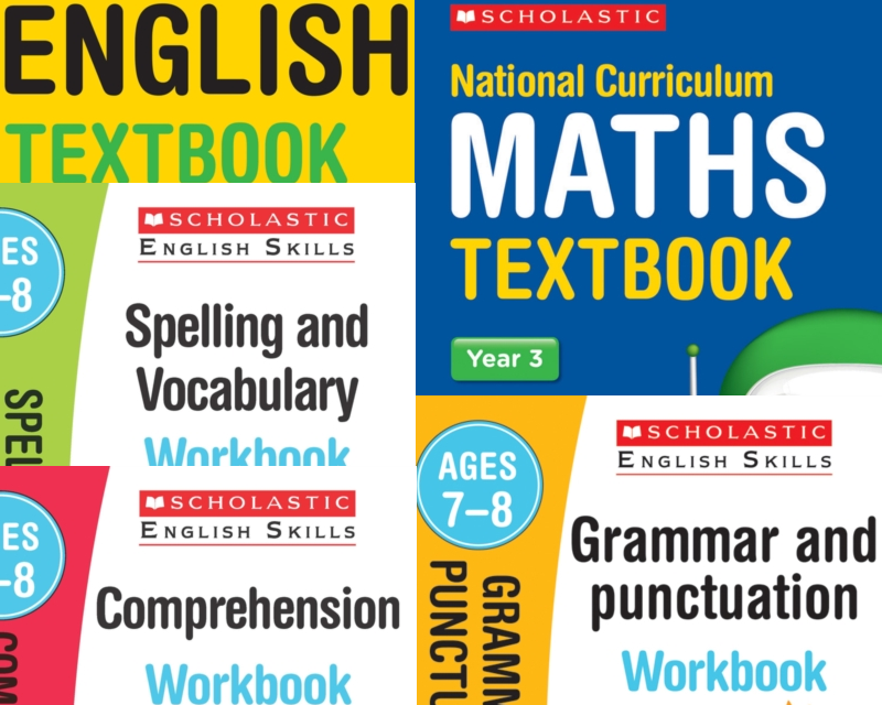 Year 3 Learning Pack [5 Books] KS2 SATs Textbooks and Workbooks for Maths  and English  Free P&P