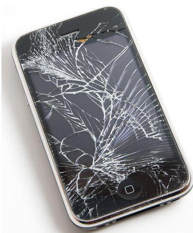 knust skjerm iphone 4 ålesund
