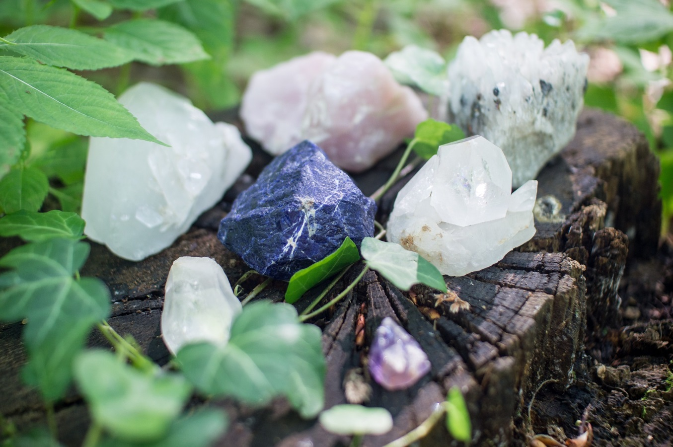What are crystals and gemstones?