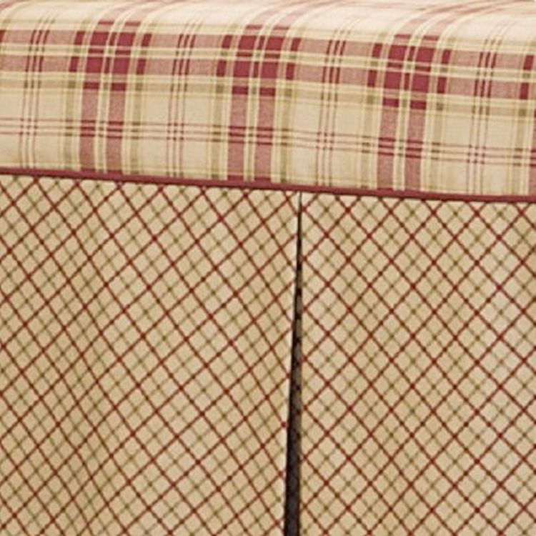 Dual Reclining Loveseat Slipcover T Cushion Shabby Toile