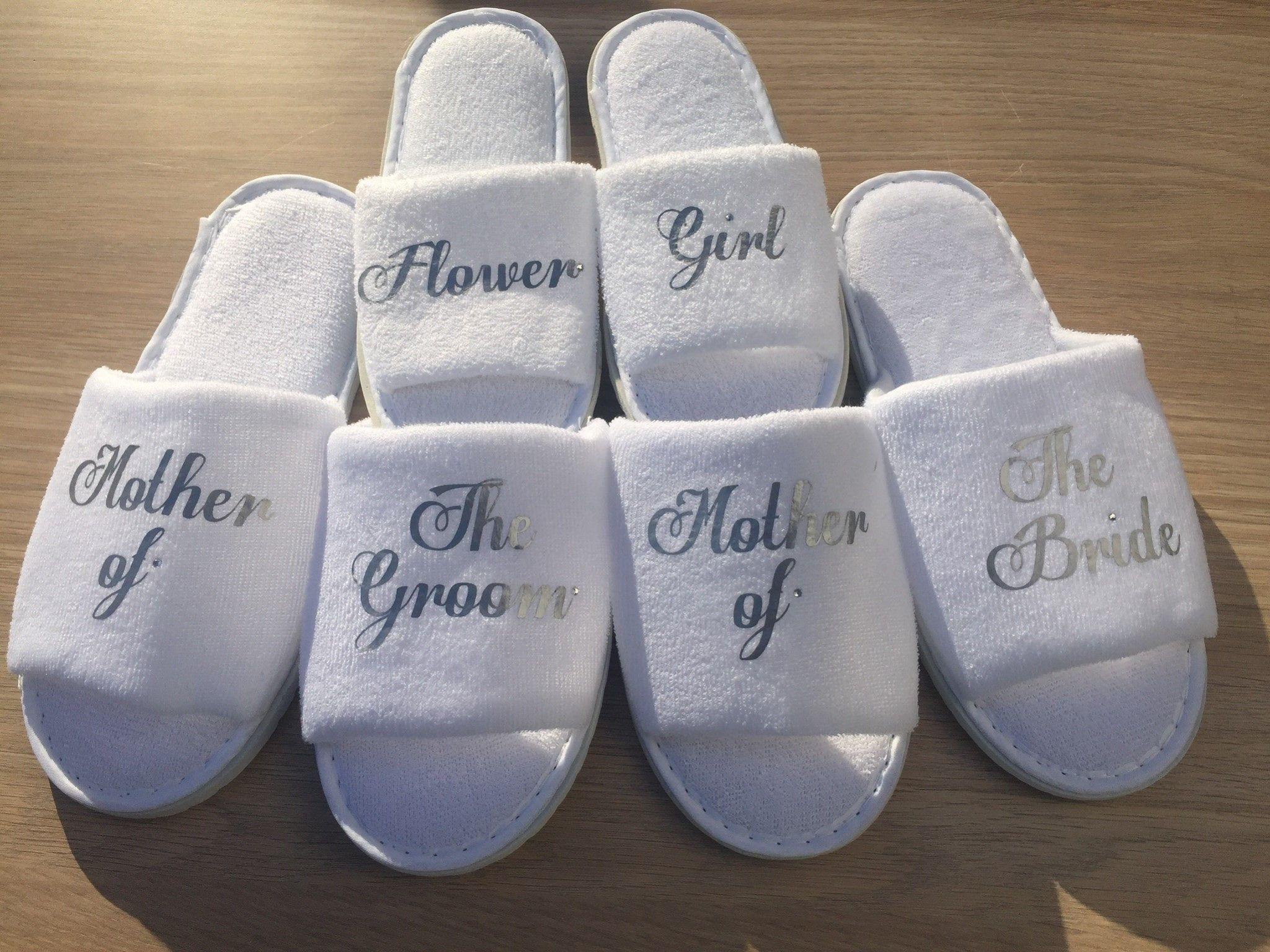 a382c207ca1d Personalised Bridal Party Hen Party Spa Slippers