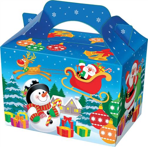 50 X Christmas Food/Party Boxes