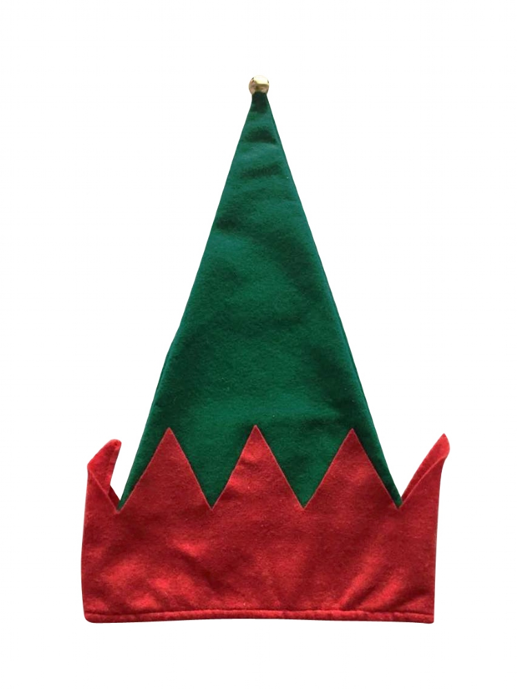 283df98f9edc3 12 x Plush Christmas Elf Hats