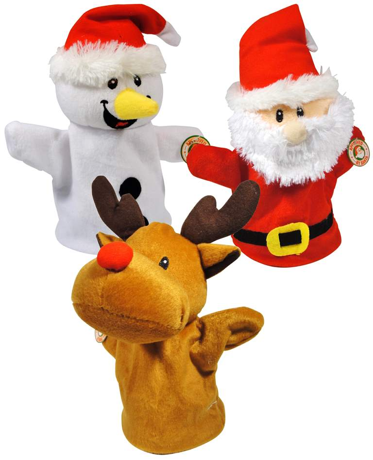 reindeer and dinosaur puppets - photo #37