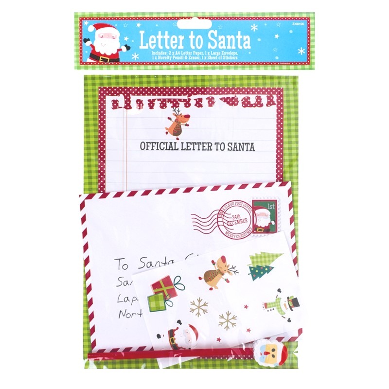 Letter To Santa Packs