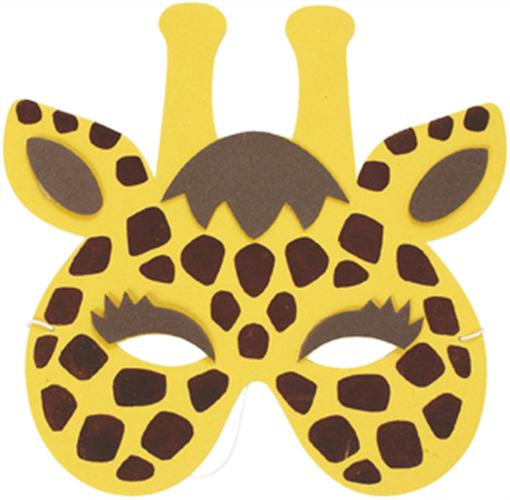 cheetah face mask template - jungle animal masks