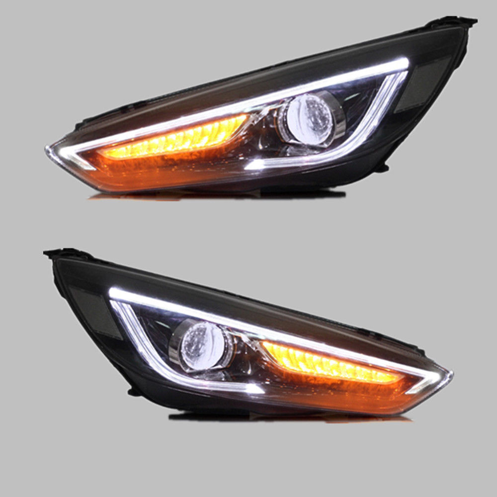 Headlights For Ford Focus 2015-2017