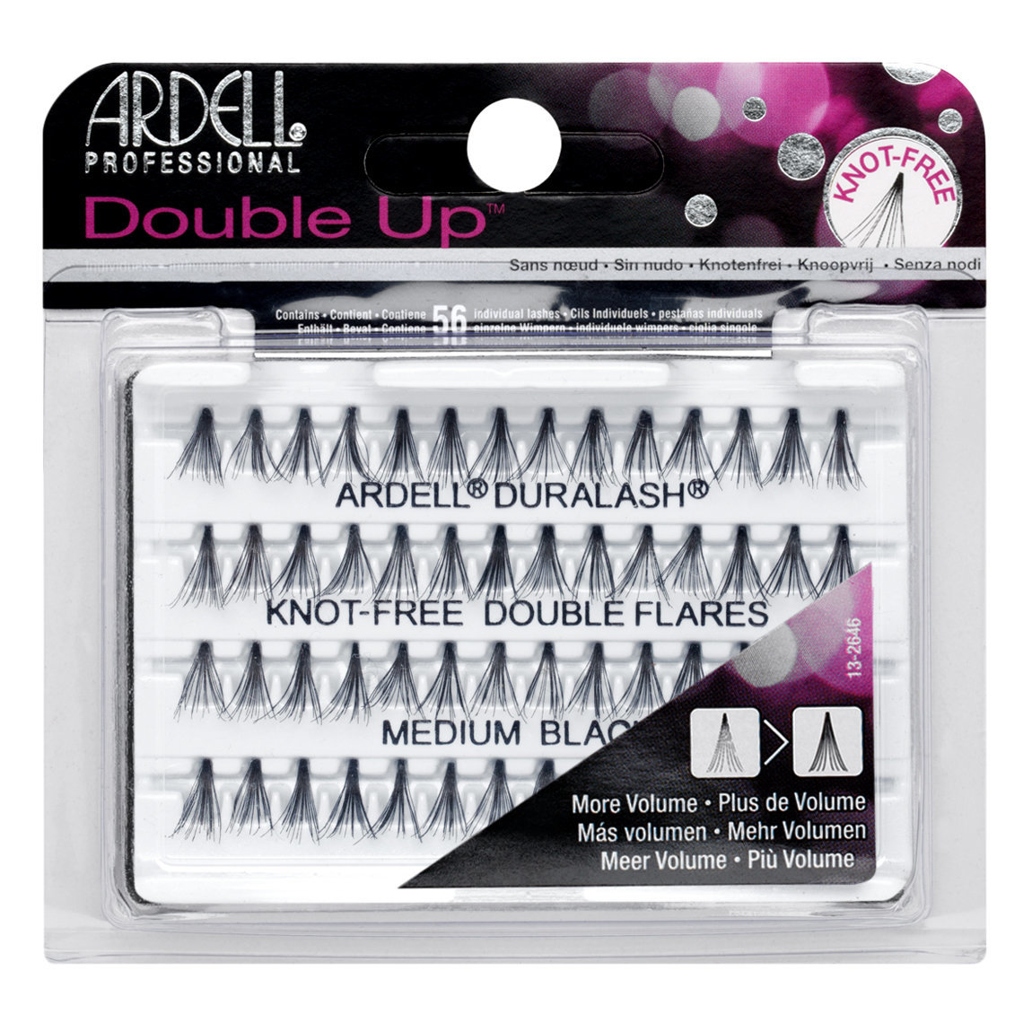 d03fe408f78 Ardell Double Up Individuals Knot-Free Medium Black