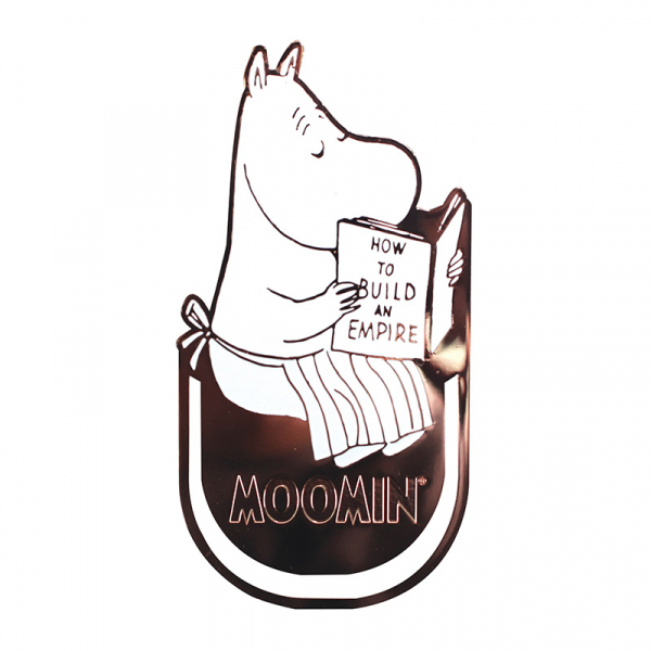 Moominmamma metal bookmark