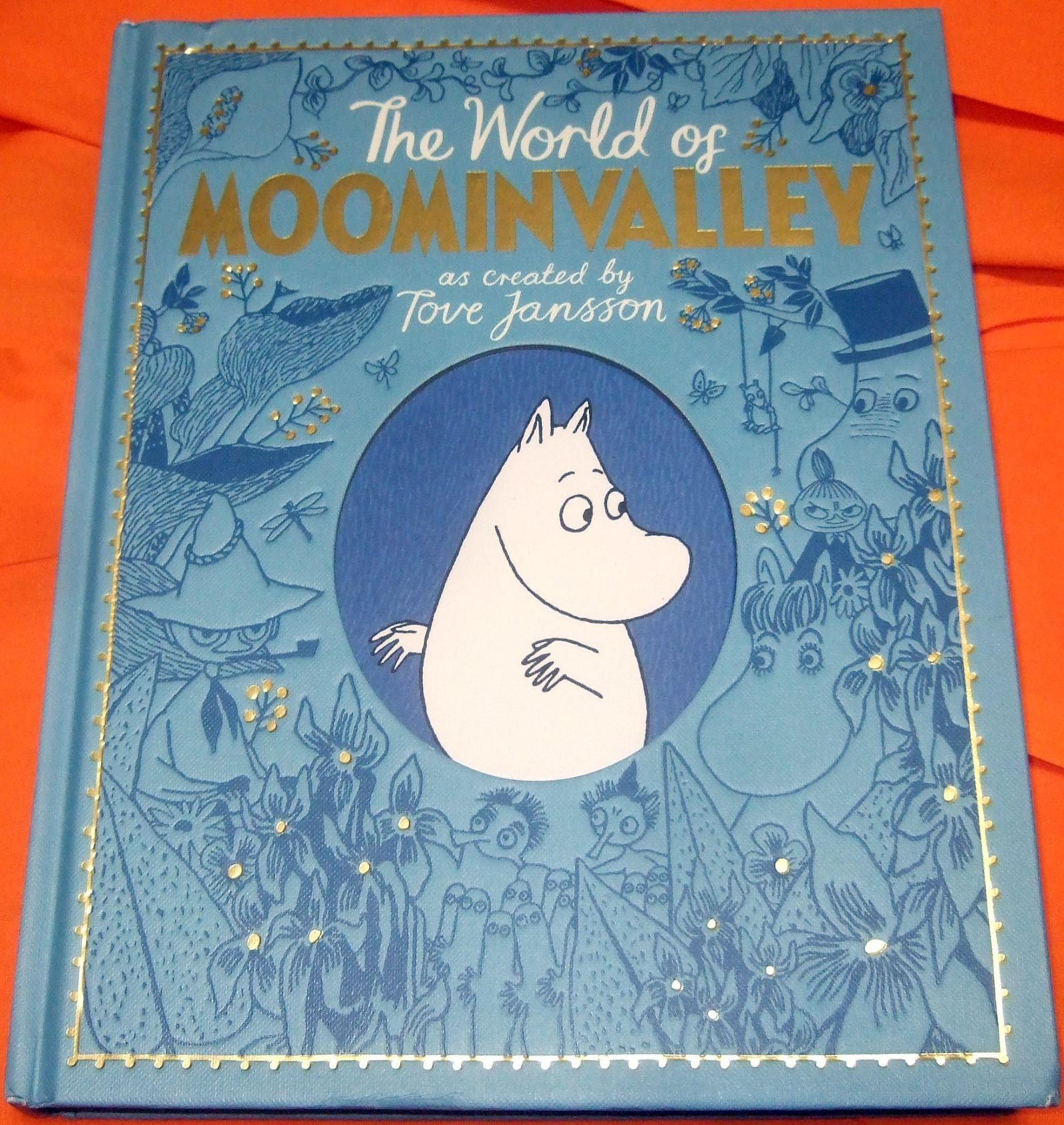 Cover of the Moomin Valley Book