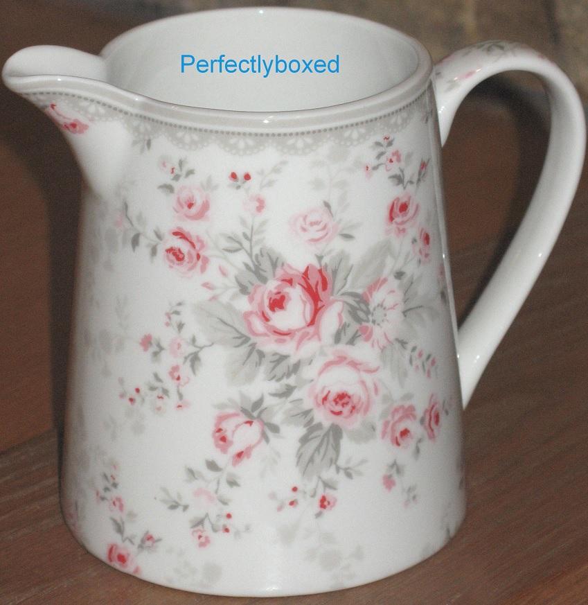 Vintage Floral Pink Jug Www.perfectlyboxed.com
