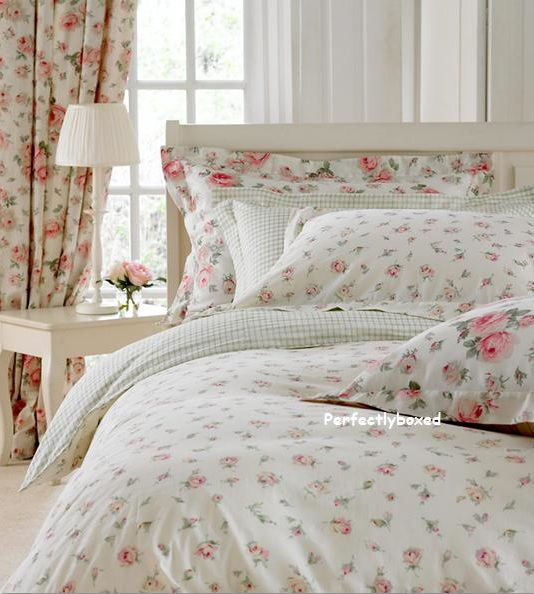 Cream Pink Floral Single Duvet At Www Perfectlyboxed Com