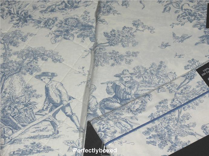 Toile De Jouy Curtains At