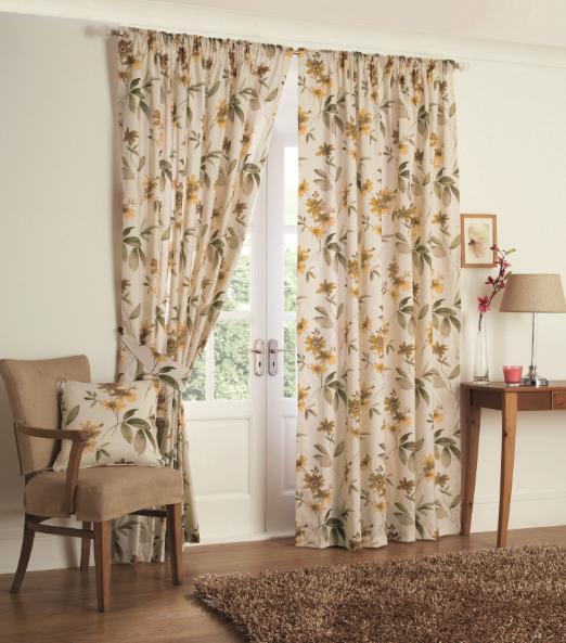 Retro Leaf Floral Curtains 66 X 72 Www Perfectlyboxed Com