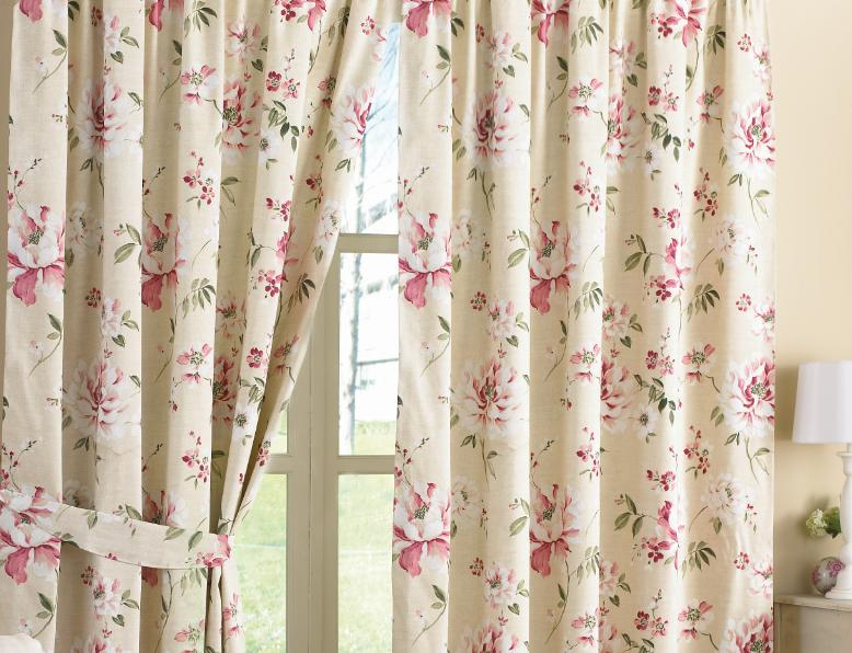 Vintage Floral Curtains 89