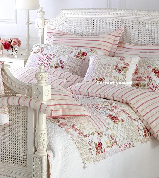 Pink Stripe Single Duvet At Www Perfectlyboxed Com
