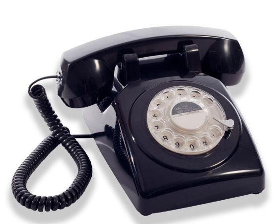 GPO Black Telephones at www.perfectlyboxed.com