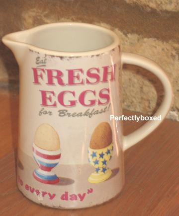 Wiscombe Fresh Eggs Jugs At Www Perfectlyboxed Com