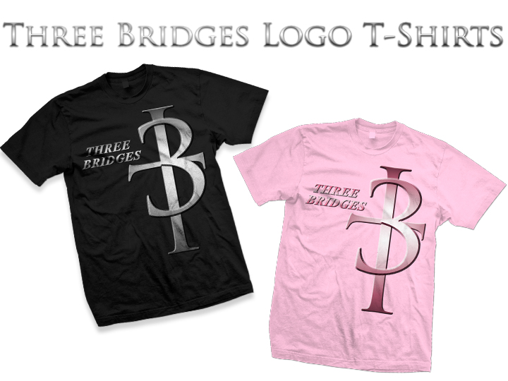 3b logo t shirts for Shirts with small logos