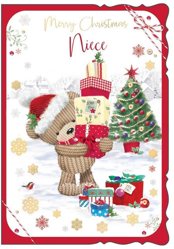 Merry Christmas Niece.Merry Christmas Niece Christmas Card