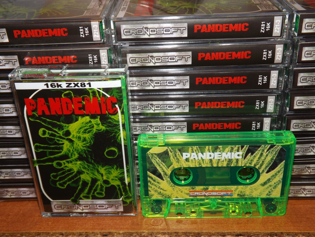 PANDEMIC - ZX81 16K NEW RELEASE