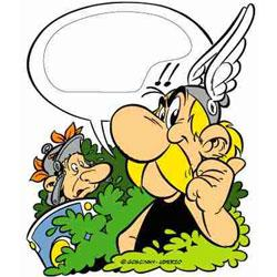 Asterix Door Plaque