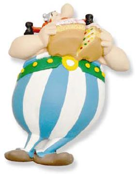 Asterix Eating Cake Magnet