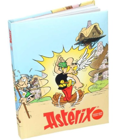 Front of the Asterix Notebook