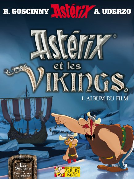 Asterix & The Vikings Movie Book