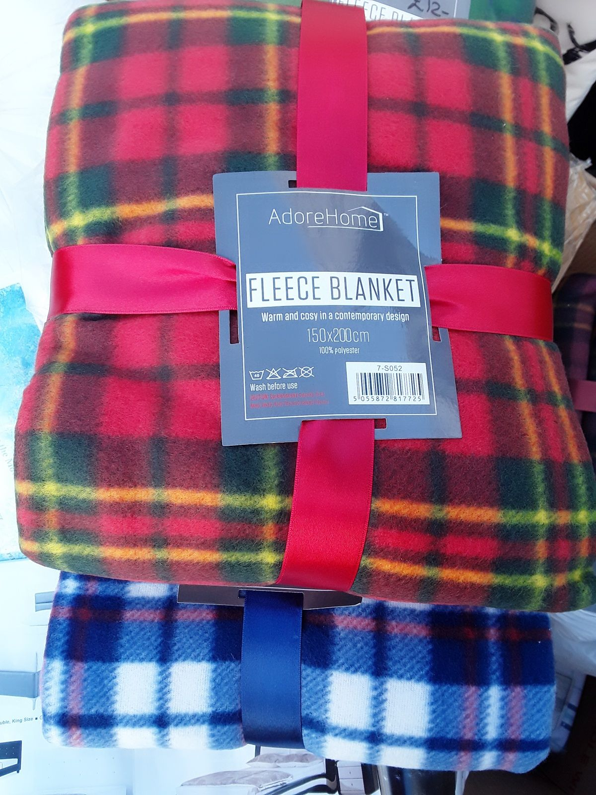 Best buy winter bedding now in stock.  Cosy fleece throws and flannellette sheet sets.