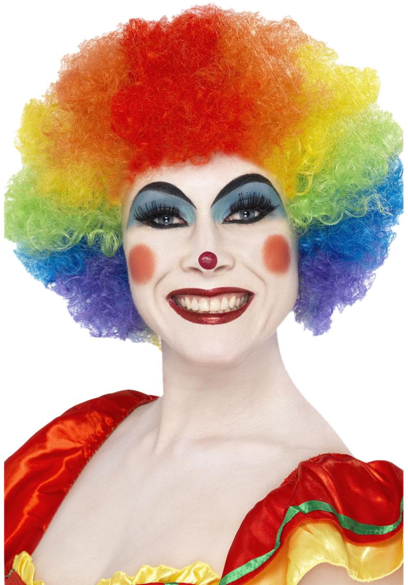 Crazy Clown Wig - Rainbow 1109e60e4