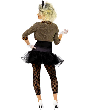 sc 1 st  The York Fancy Dress Shop & 80u0027s Wild Child Costume - Madonna Style
