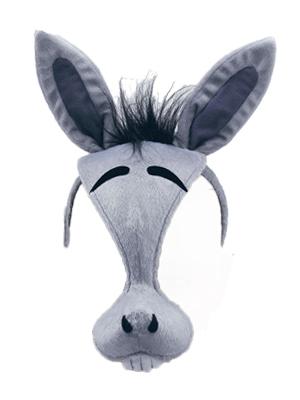Donkey Mask on Headband + Sound