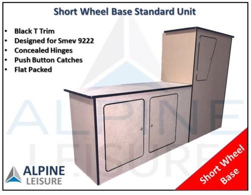 MDF Standard Kitchen Unit