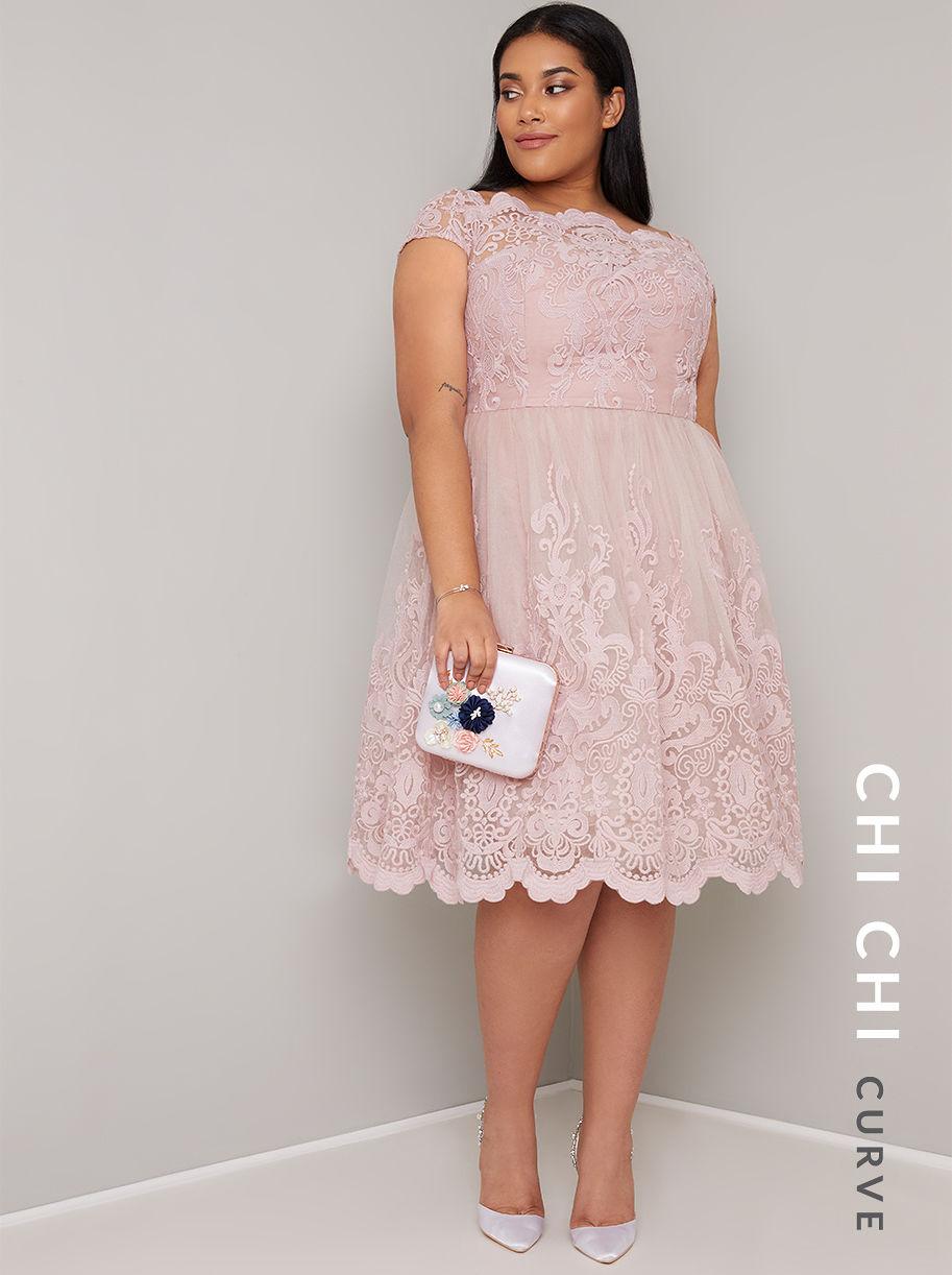 b74173d6a479 CHI CHI CURVE LIVIAH DRESS