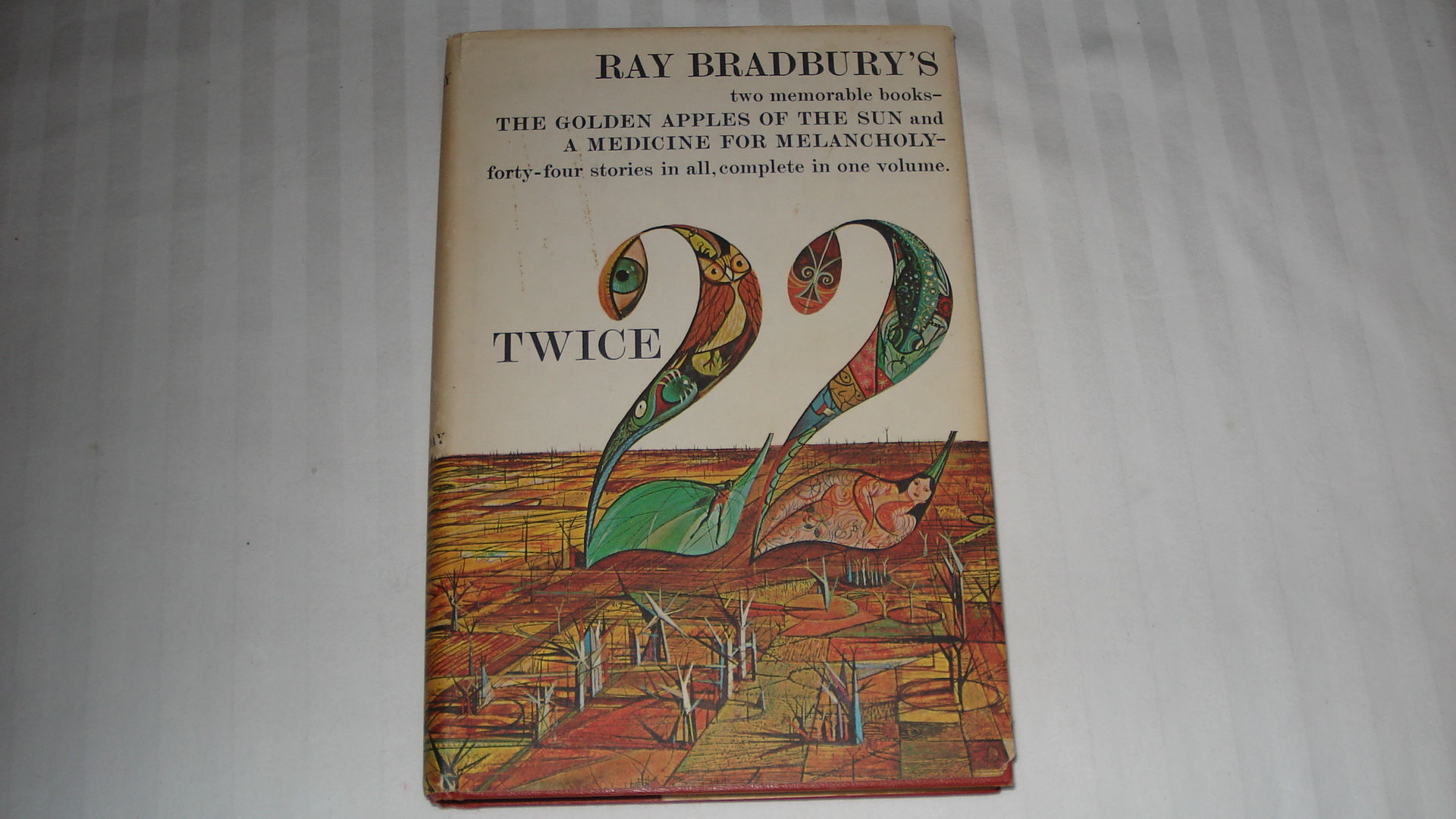 Twice 22 Author Ray Bradbury 1966