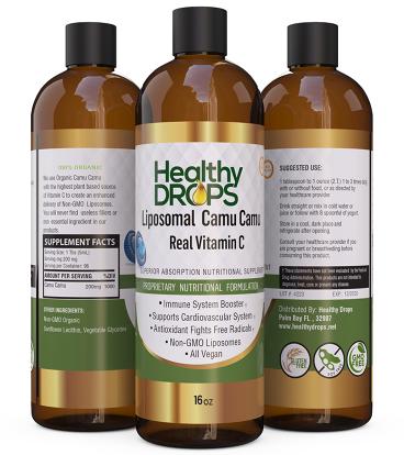 Liposomal Vitamin C - Camu Camu