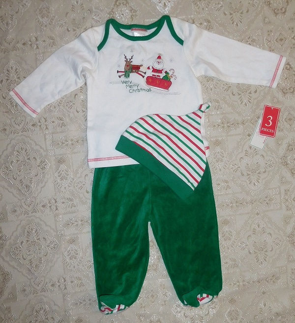 5e8e2c29e Baby works 3 Piece Outfit Sets size 6-9 Months