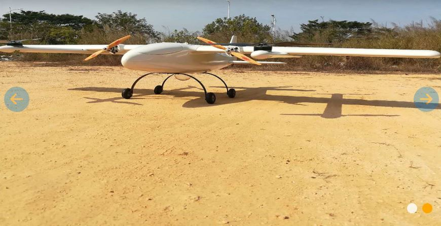 GC-L10 - electrical composite wing VTOL UAV