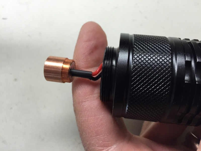 Survival Laser 7 Host Bundle - Components Only- No Diode