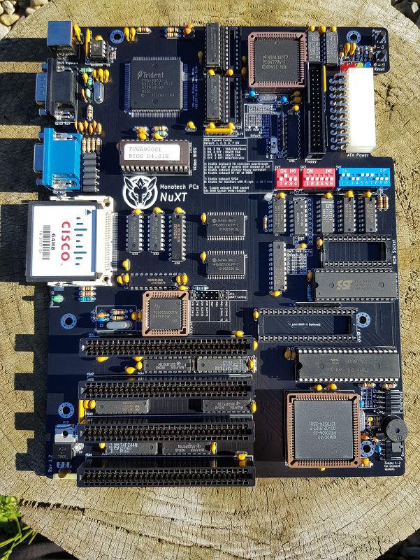 NuXT - MicroATX Turbo XT - 9 55MHz, 832K RAM, XT-CF, SVGA, Floppy, Serial