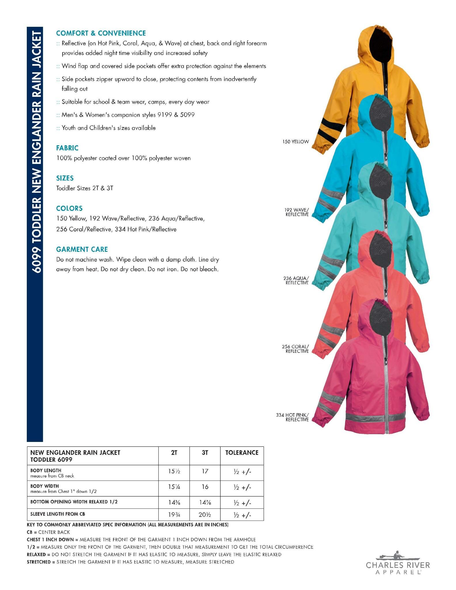 4a3ceb5cf606 Toddler New Englander Rain Jacket