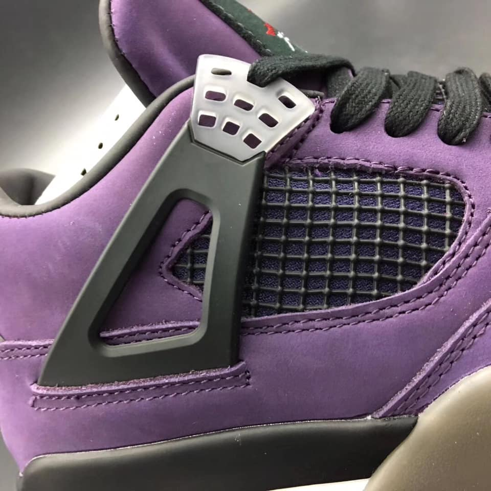 on sale b9a86 40eec Travis Scott Air Jordan 4 PURPLE