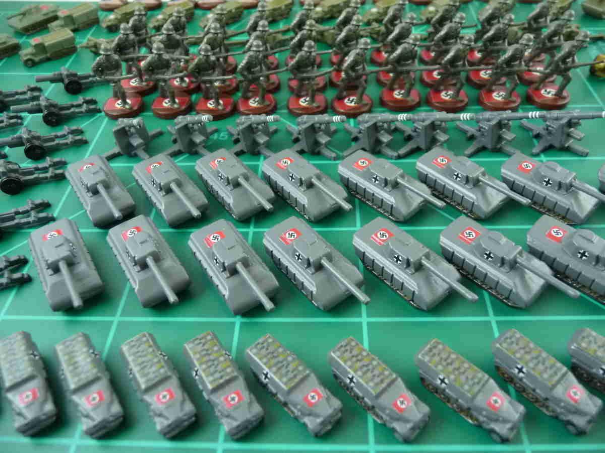 Game pieces - England-UK Artillery x3 1999 Axis /& Allies: Europe