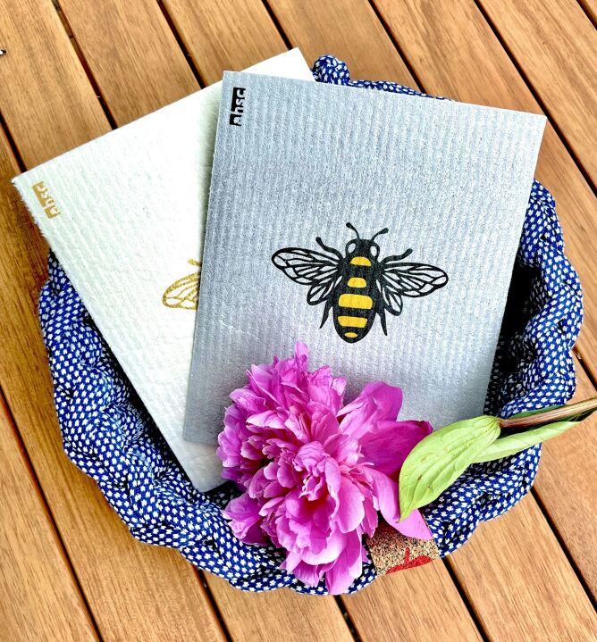 Bee Eco Dishcloths
