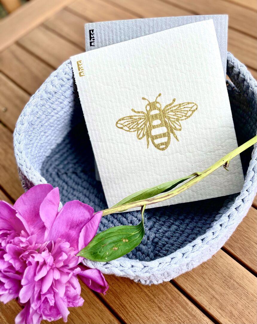 Gold Bee Eco Dishcloth